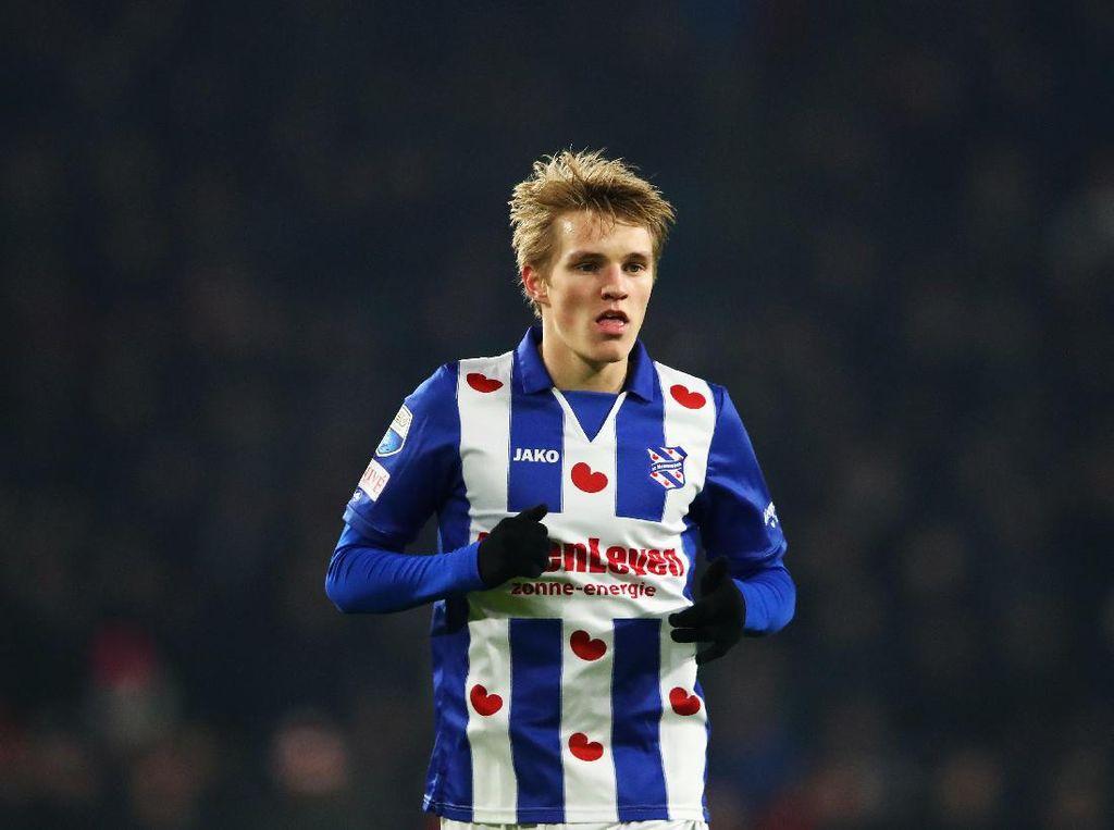 Martin Odegaard Dapat Kontrak Baru di Madrid
