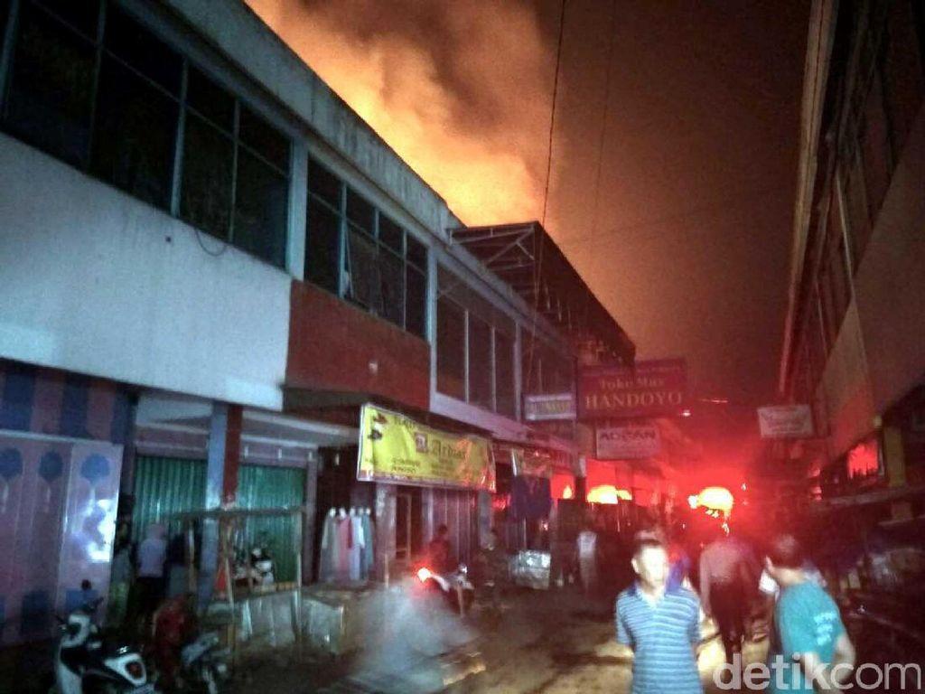 Pasar Gombong Kebumen Terbakar