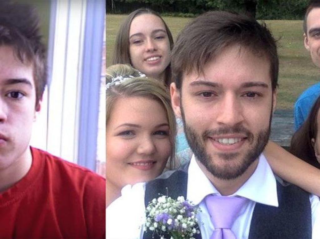 Edan! Pria Ini Selfie Tiap Hari Selama 9 Tahun