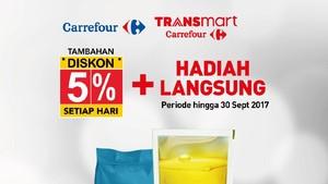 Belanja dengan Debit Bank Mega Gratis Minyak Goreng di Transmart Carrefour