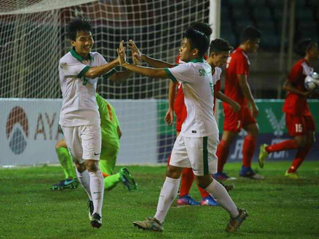 Indonesia vs Thailand: Kans Garuda Muda Perbaiki Rekor Pertemuan