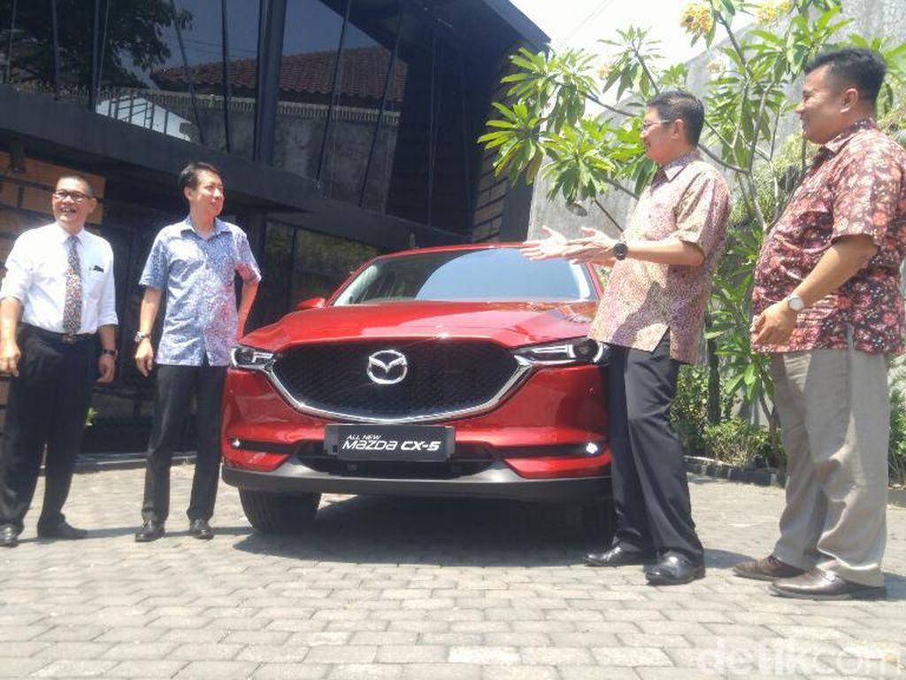 Hadir di Semarang, Mazda CX-5 Dijual Mulai Rp 546 Juta
