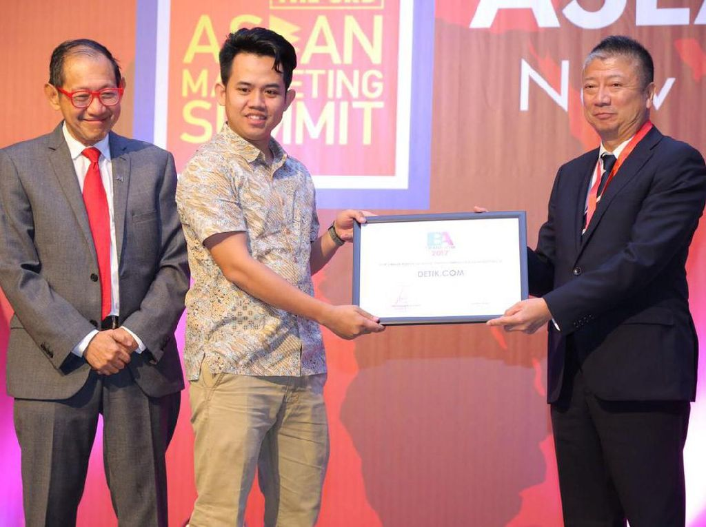 detikcom Terima Penghargaan Most Powerful Media Brand