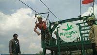 Sudah Tahu? Flying Fox Terpanjang se-Asia Tenggara di Gunungkidul