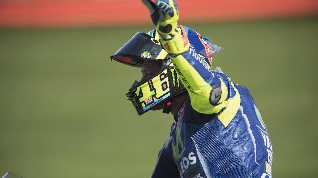 Rossi Dinyatakan Fit untuk Balapan di Aragon