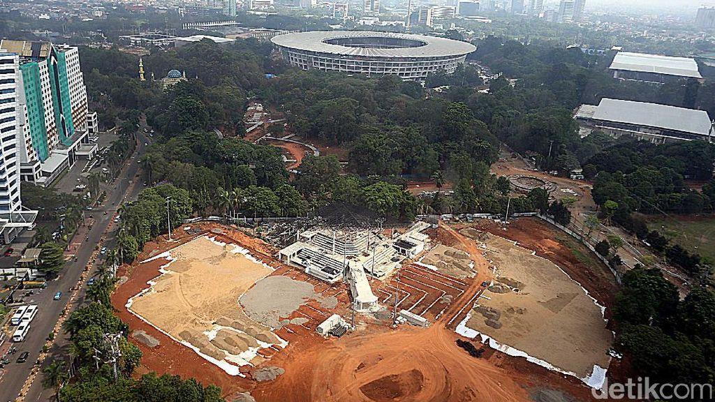 Inilah Kondisi Terkini Pembangunan Kawasan GBK Senayan