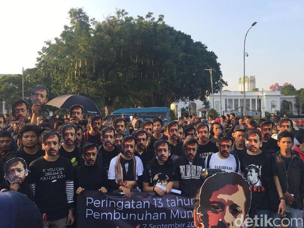 Jokowi Didesak Segera Umumkan Hasil Penyelidikan TPF Kasus Munir