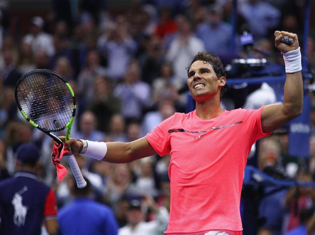 Nadal Melangkah Mulus ke Semifinal
