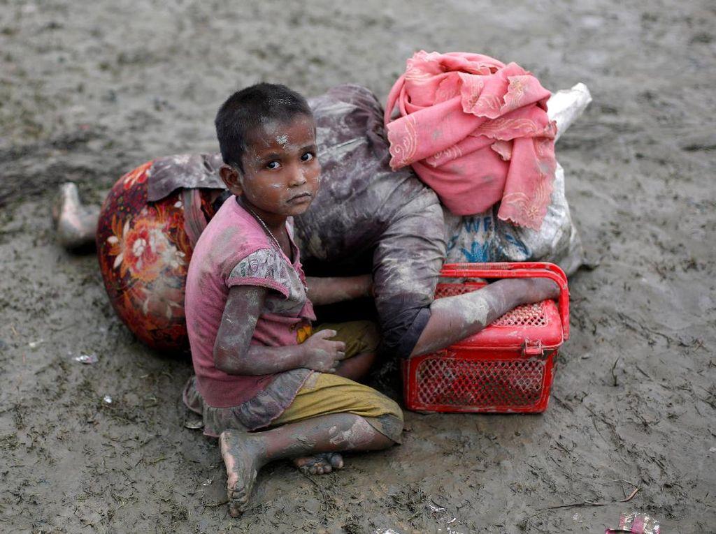 Foto: Memilukan Pengungsi Rohingya
