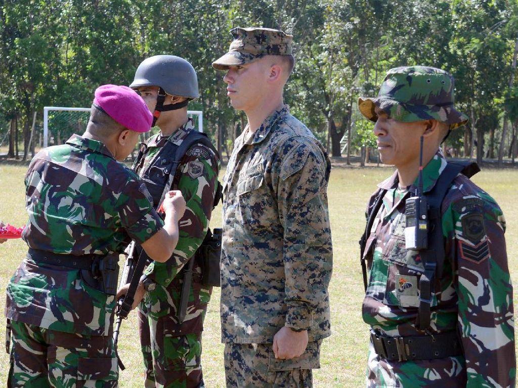 Marinir Indonesia-Amerika Gelar Latihan Bersama di Situbondo