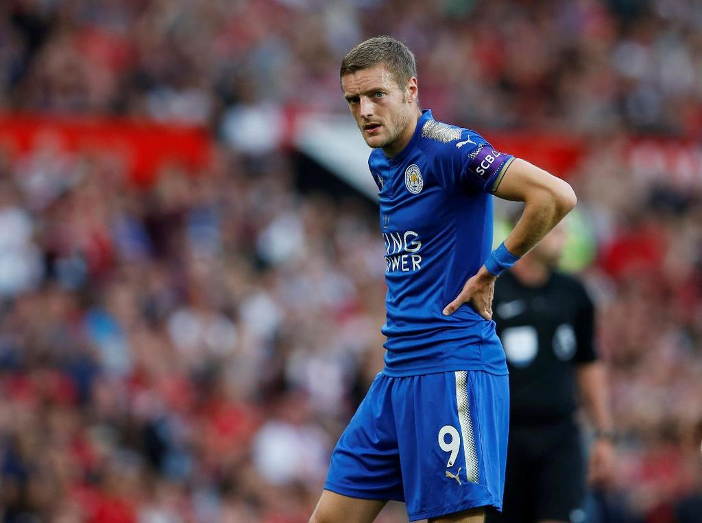 Pernah Tolak Arsenal, Vardy Tetap Buka Peluang Hengkang dari Leicester