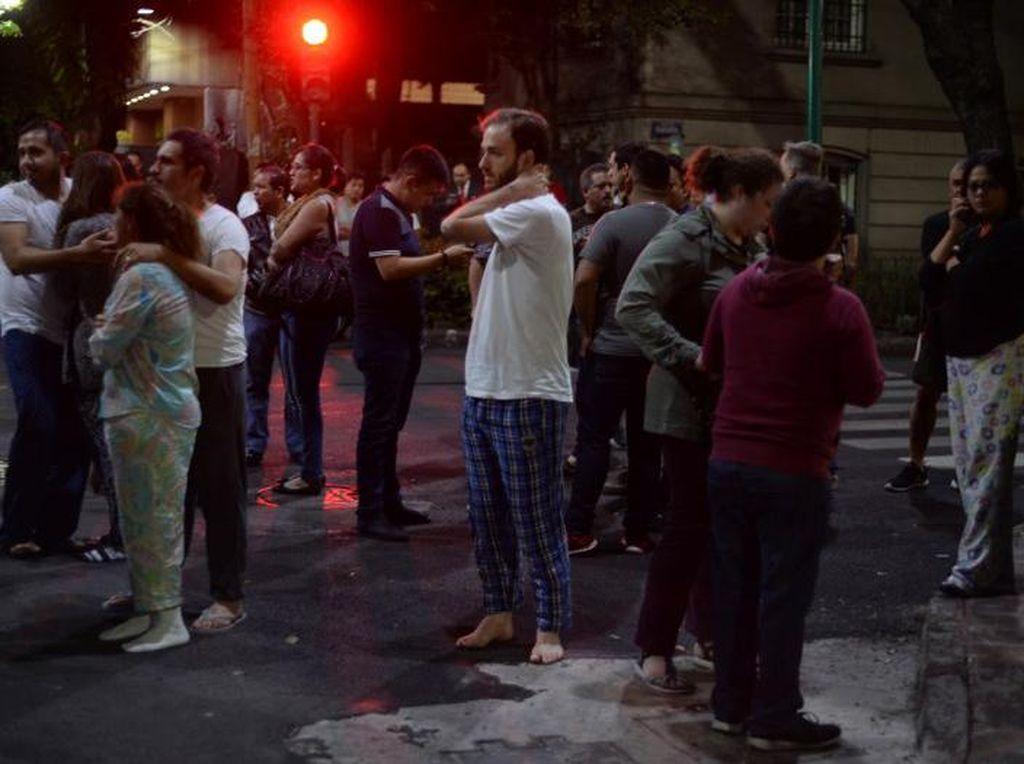 Korban Tewas Akibat Gempa di Meksiko Bertambah, Kini Jadi 36 Orang