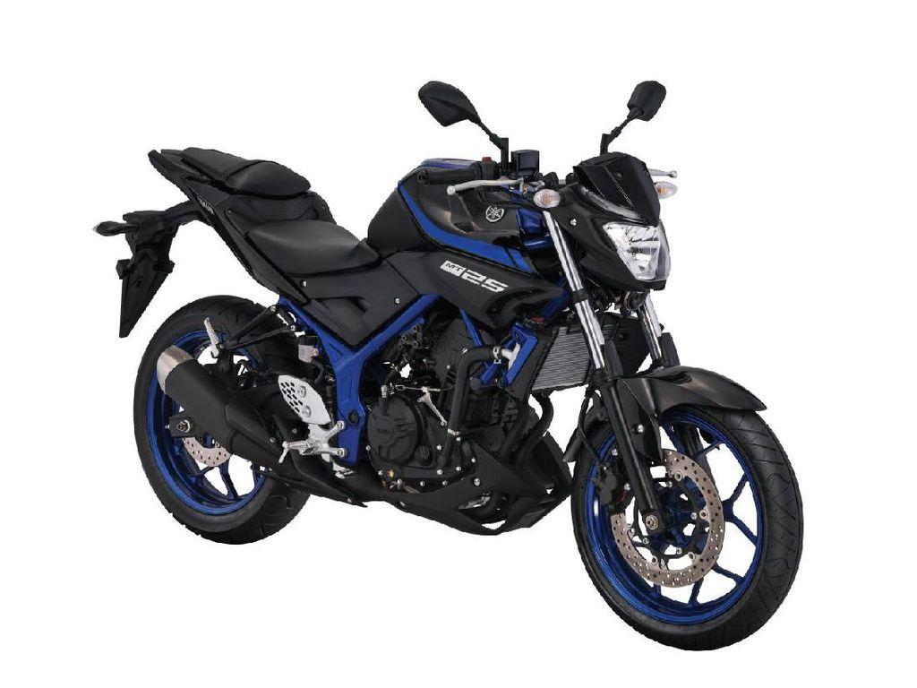Foto: Yamaha MT-25 Terbaru Nih..