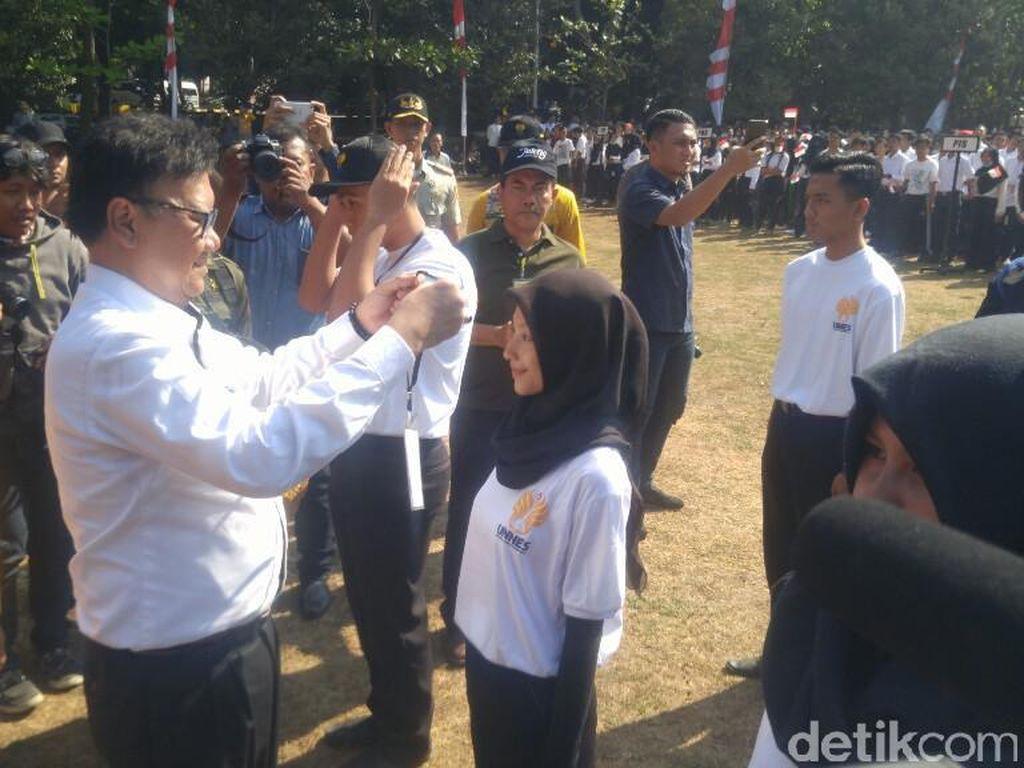 Mendagri Lepas 6.500 Mahasiswa Unnes untuk Dilatih Bela Negara