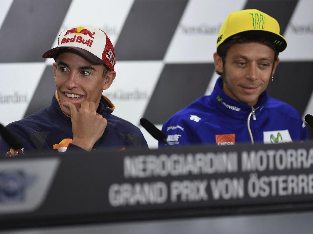 Ayah Rossi Tak Yakin Anaknya Sudah Berdamai dengan Marquez