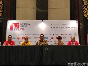 HUT ke-207, Pemkot Bandung Gelar <i>Great Sale</i> Sebulan