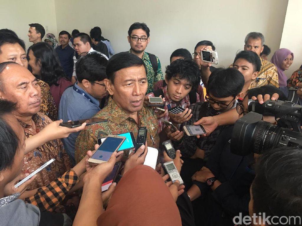 Manuver Wiranto Melawan Penyebar Hoax dan Pengancam Pemilih