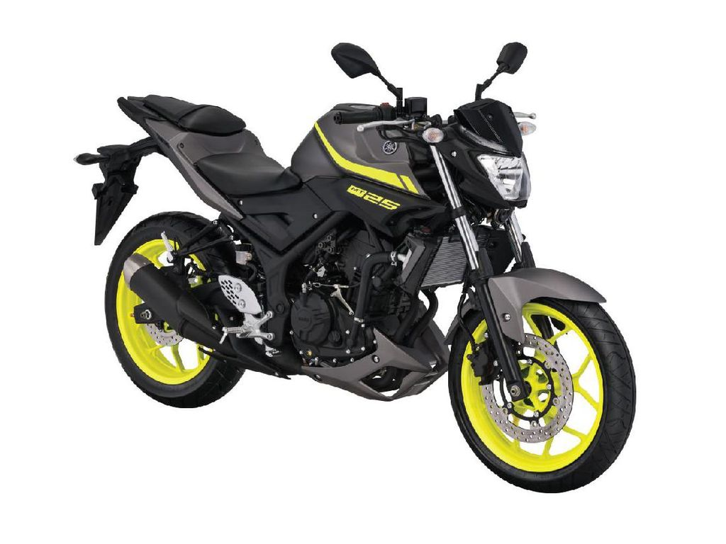 Yamaha MT-25 Punya Tampang Baru