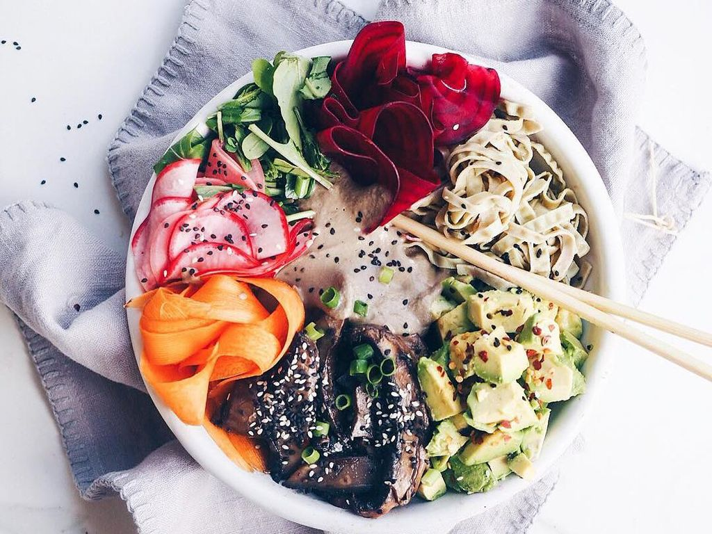 Rasanya Tak Selalu Hambar, Makanan Vegan Juga Diolah dengan Rasa Enak