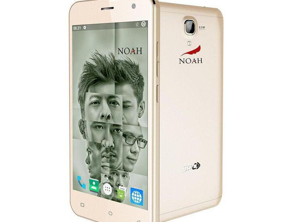 Noah Smartphone Usung Konten Eksklusif Ariel cs