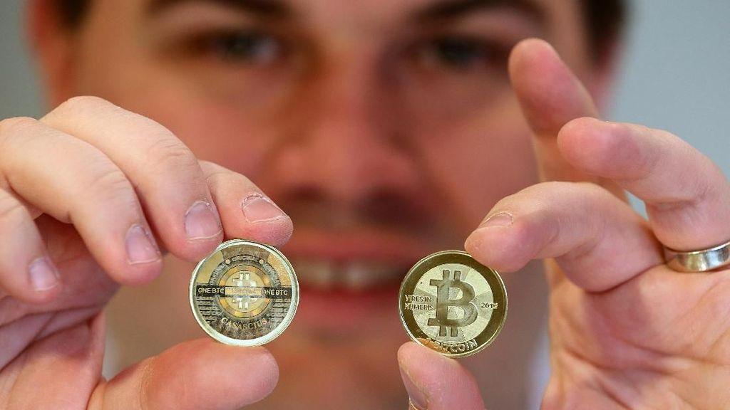 Foto: Bitcoin Si Uang Sakti Tembus Rp 60 Juta