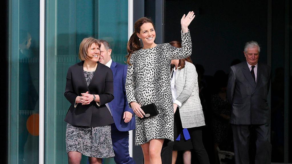 Foto: Throwback Kehamilan Pertama dan Kedua Kate Middleton