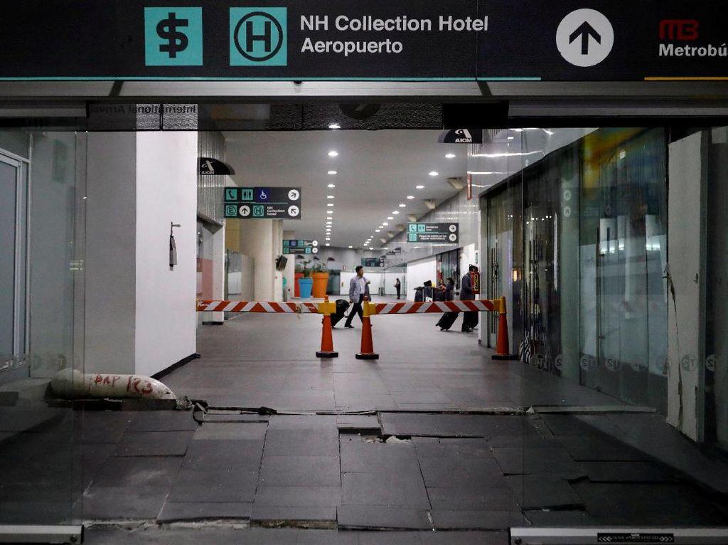 6 Orang Tewas Akibat Gempa 8 SR di Meksiko