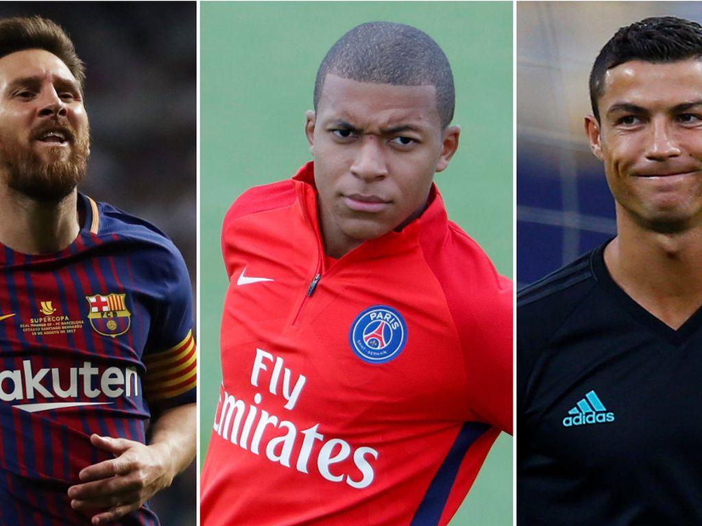 Yang Luput dari Tangan Wenger: Ada Mbappe, Juga Ronaldo dan Messi