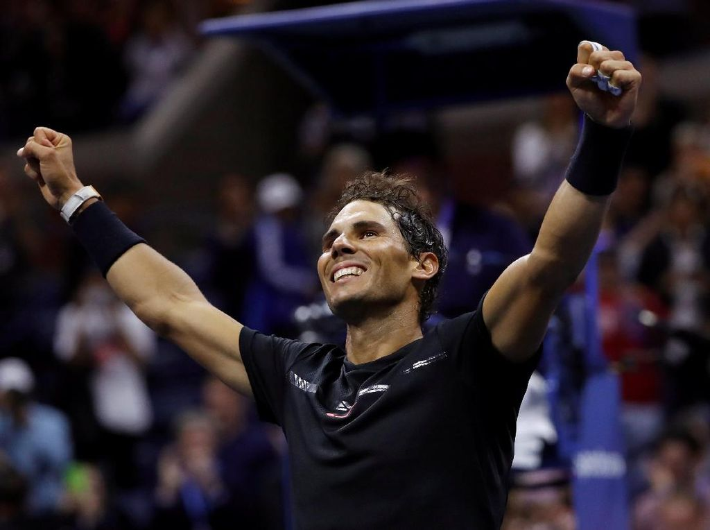 Kalahkan Del Potro, Nadal Masuk Final
