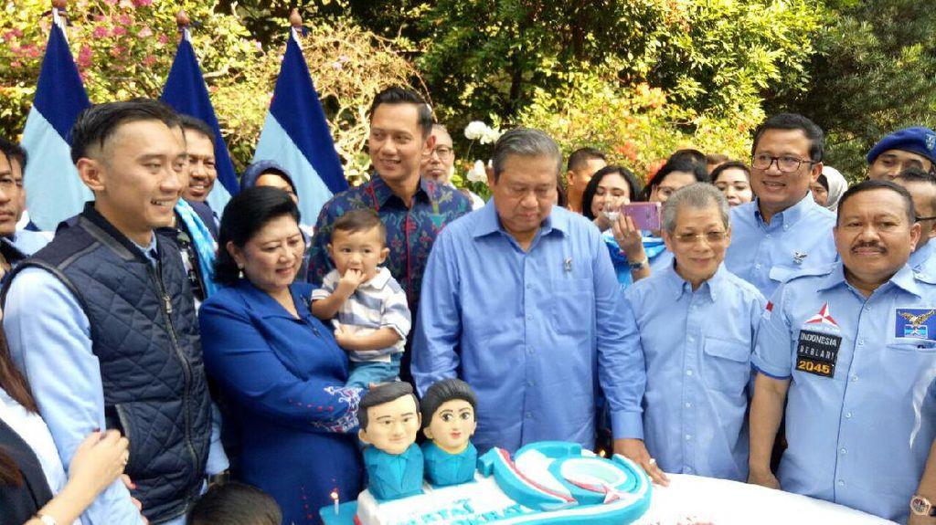 Kemeriahan HUT 68 SBY: Dari Bujangan Hingga Kecup Kening Bu Ani
