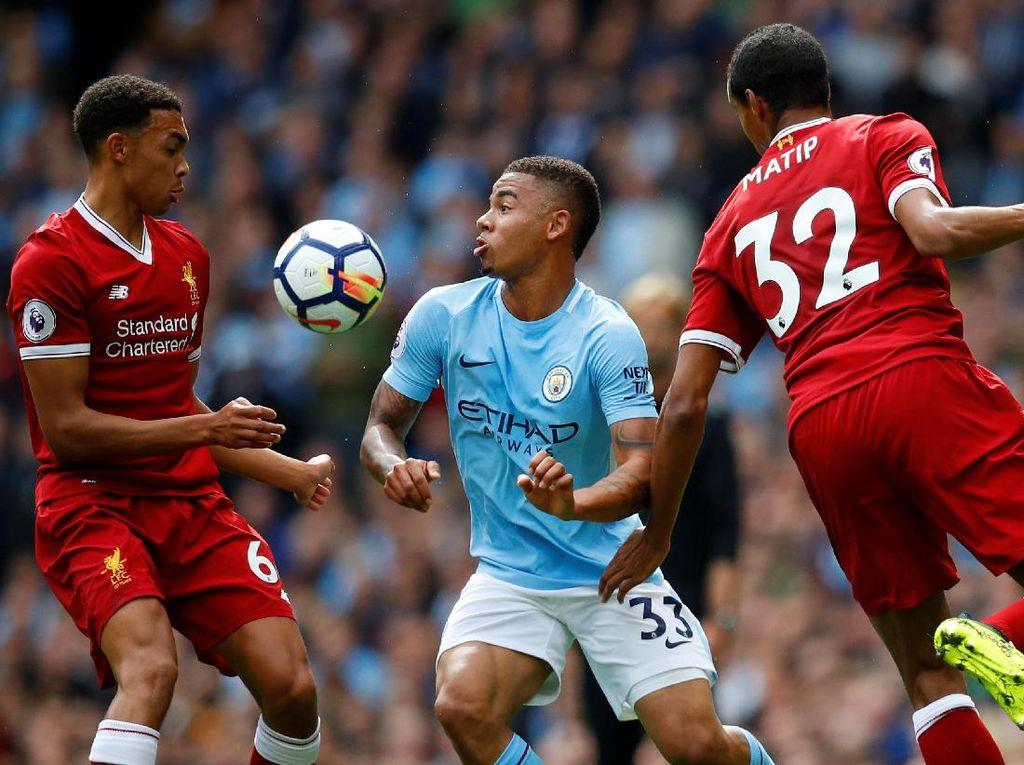 City Ungguli Liverpool 2-0, Mane Dikartu Merah