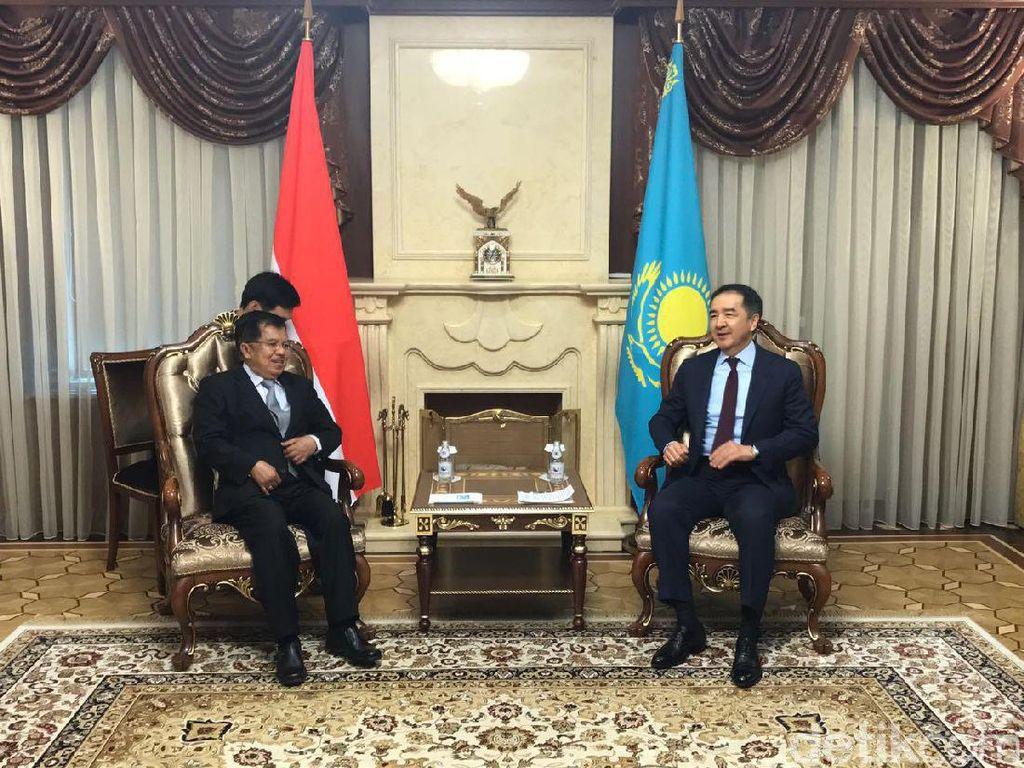 Bertemu PM Kazakhstan, JK Ingin Tingkatkan Kerja Sama