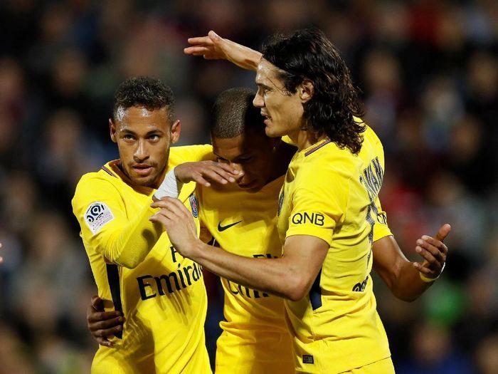 Paris Saint Germain jadi salah satu peserta ICC 2018 (Gonzalo Fuentes/Reuters)