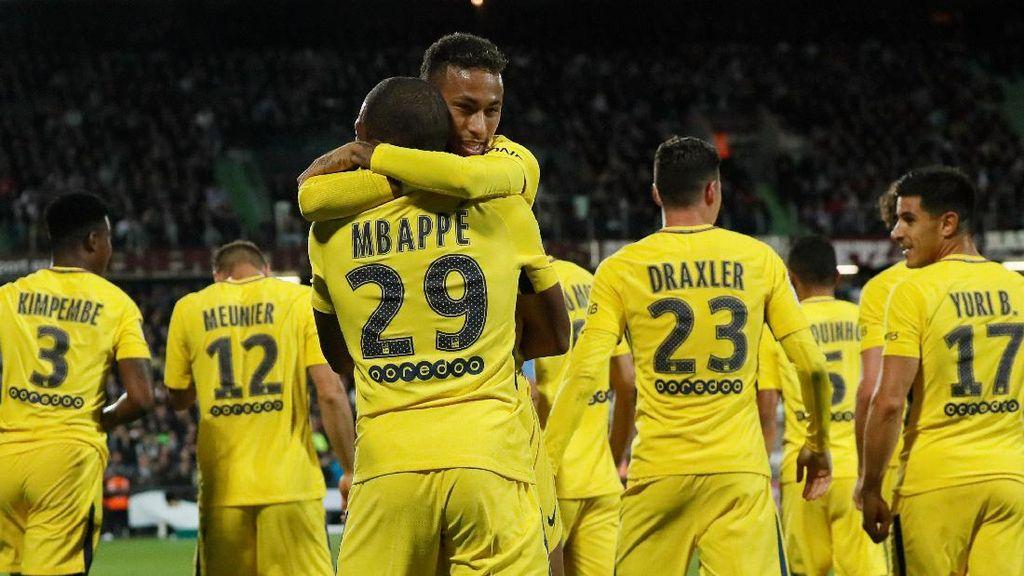 PSG Merusak Harga Pasar dengan Transfer Mbappe-Neymar