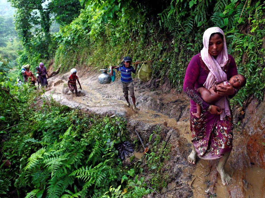 Ranjau Ini Tewaskan Warga Rohingya di Pelarian