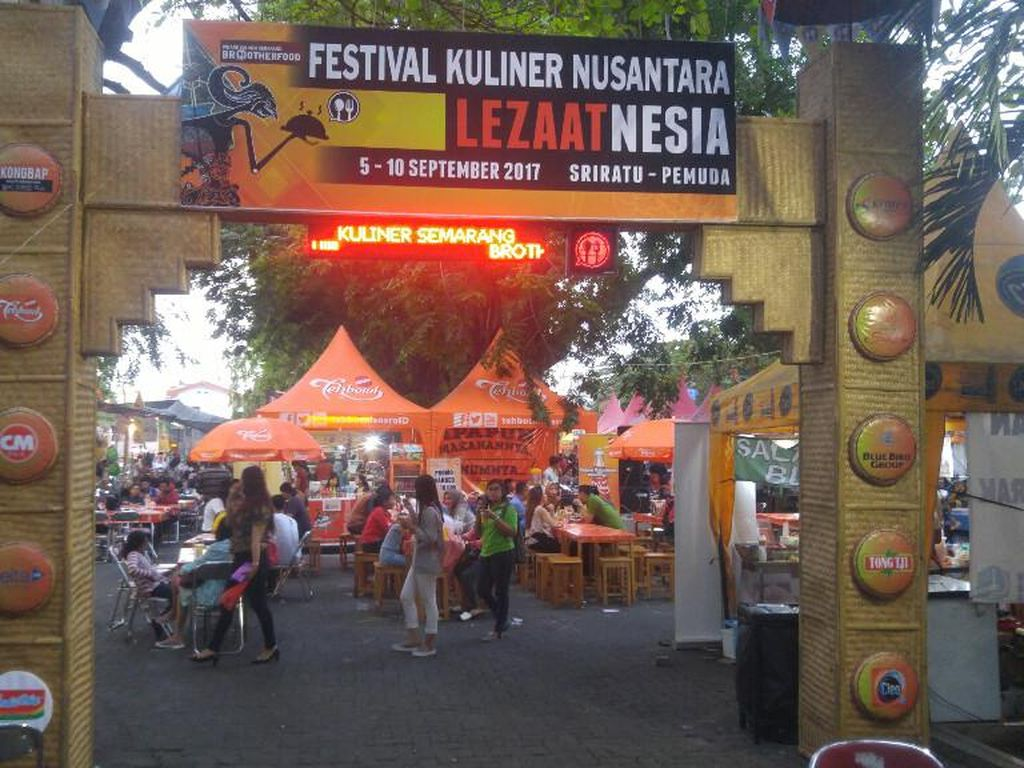60 Penjaja Kuliner Ramaikan Festival Lezaatnesia di Kota Semarang