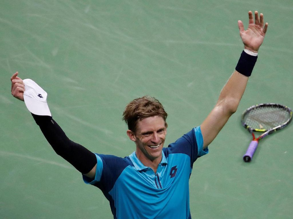 Kevin Anderson ke Final AS Terbuka