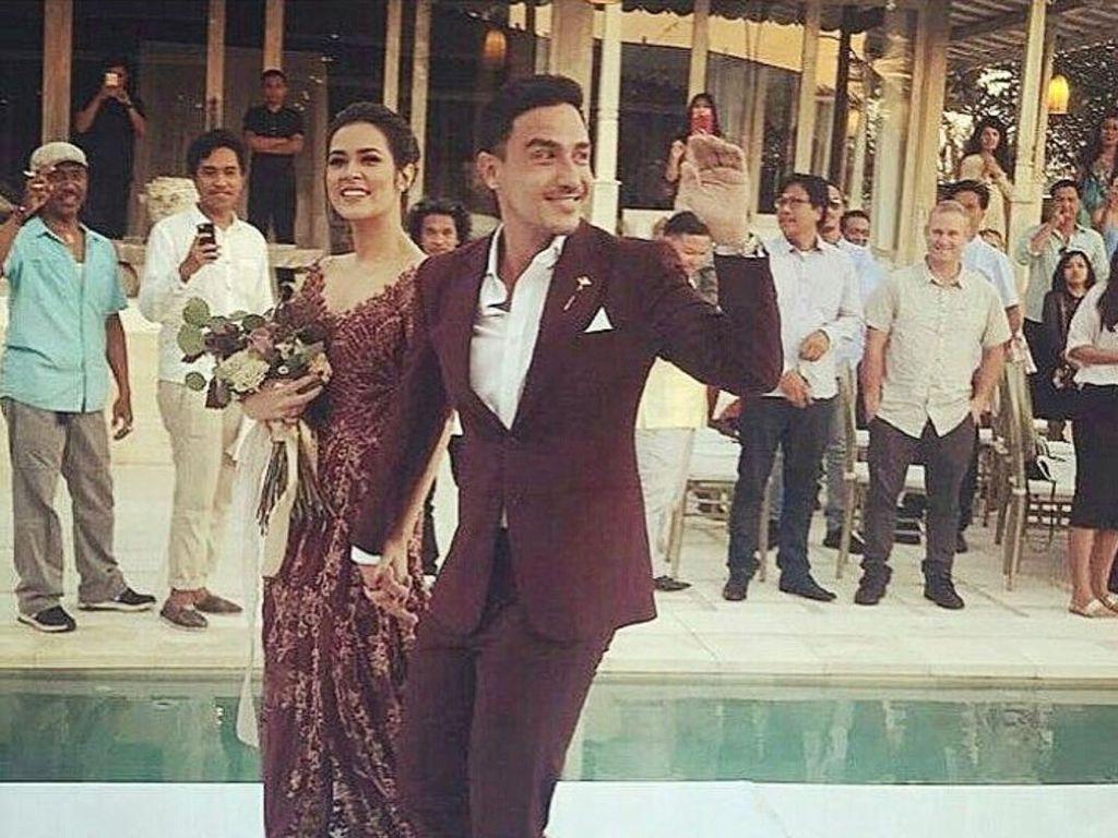 Raisa dan Hamish Daud Gelar Resepsi Romantis di Bali