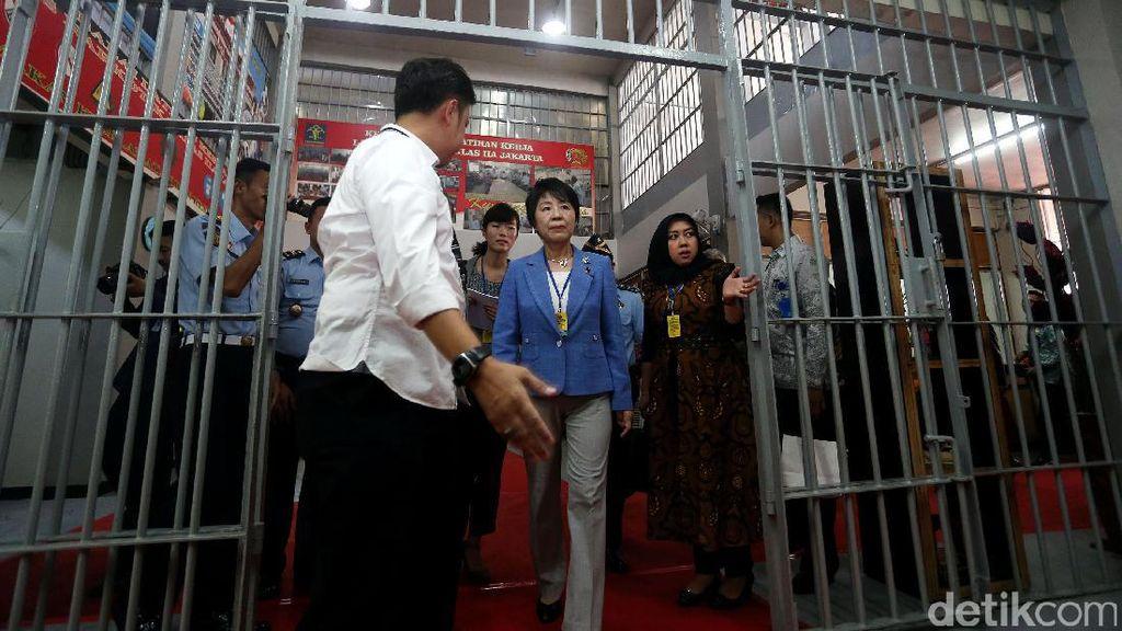 Menteri Kehakiman Jepang Kunjungi Rutan Cipinang