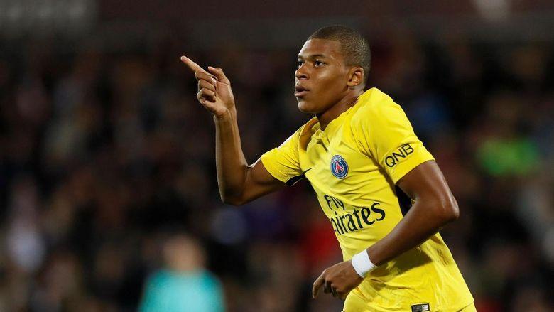PSG Percaya Bisa Kalahkan Madrid Ucap Mbappe