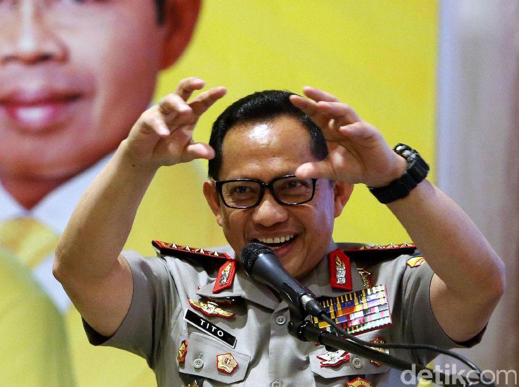 Kapolri Jenderal Tito Akan Dapat Gelar Profesor dari PTIK