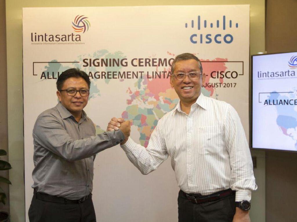 Lintasarta Diperkuat Teknologi Cisco
