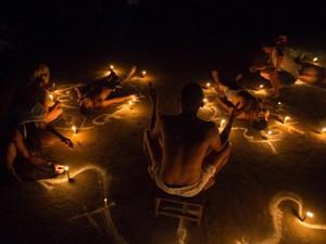 Foto : Ritual Penghilang Rasa Sakit dan Penyakit