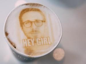 Kafe Ini Sajikan Latte dan Cappuccino Bergambar Ryan Gosling