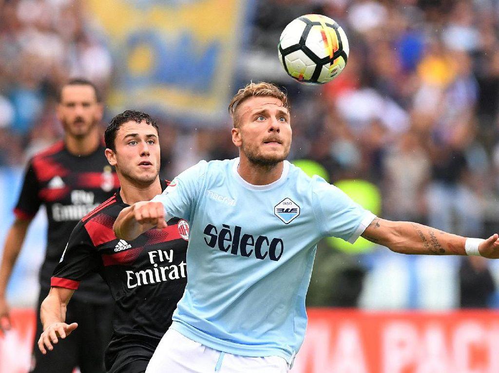Immobile Hat-trick, Lazio Hajar Milan 4-1