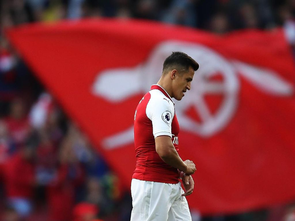 Begini Perubahan Nuansa Hati Alexis Sanchez Saat Batal ke City
