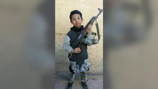 Bocah Petarung ISIS Tiga Bulan Belajar di Pesantren Bogor