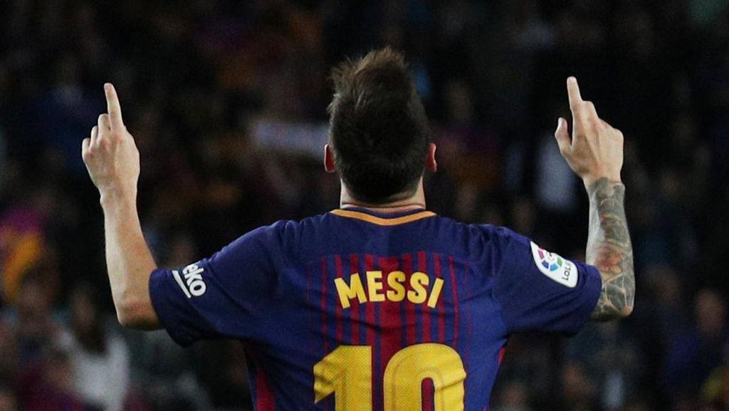 Hat-trick ke-27 Messi di La Liga