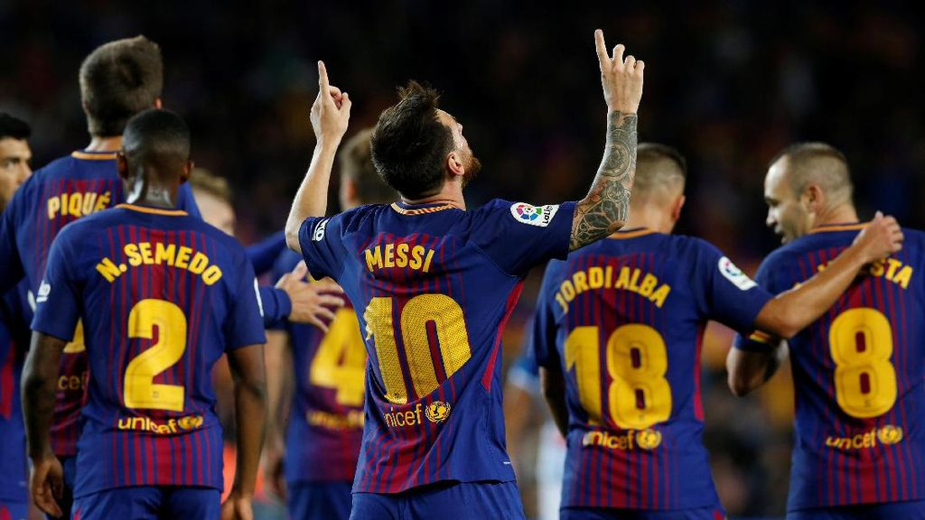 Highlights: Messi Hat-trick, Barca 5-0 Espanyol