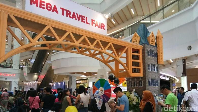Mega Travel Fair fi Medan (Jefris Santama/detikTravel)